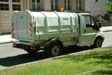 Müllpressaufbau LN