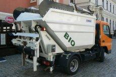 Biomüll-Pressaufbau LNB
